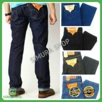 celana jeans levis pria jeans panjang levis505 standart reguler hitam