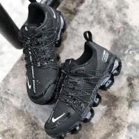 Sepatu Nike Air Vapormax Run Utility Triple Black Premium Original