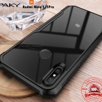[iPaky] Case Xiaomi Redmi Note 5 Bumper Transparent Clear Original