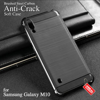 Anti Crack Soft Case Samsung M10 Softcase Silicon Silikon Casing Cover
