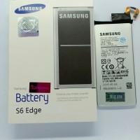 Baterai original100% samsung Galaxy S6 edge segel SIEN
