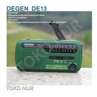 Radio Degen DE13 Portable Outdoor Mini Radio