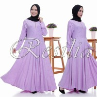 RESILIA Embos Gamis Jersey Embos Promo!!!!