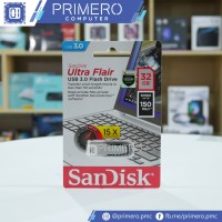 SanDisk Ultra Flair USB 3.0 32GB Flash Disk Drive