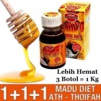 Madu Diet Pelangsing Ath Thoifah Original Asli Obat Herbal Langsing De