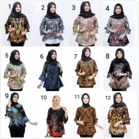 Atasan batik Blouse batik atasan wanita batik modern Blouse modern