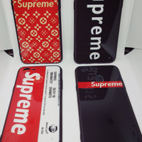 Case Fuze Glass Supreme Oppo F5 Soft Case Casing Supreme F5 Youth Pro