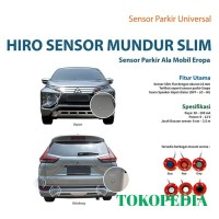 HIRO SENSOR MUNDUR SLIM WARNA SILVER (4 TITIK) Z257 WR36