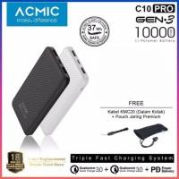 Power Bank ACMIC C10PRO 10000mAh