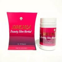 SINENSA Beauty Slim Herbal BPOM ORI Kapsul Isi 50 | Pelangsing Badan