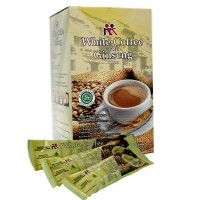 White Coffee with Ginseng 12sachets kkindonesia
