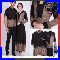 Terlaris AB Agen Baju Official Shop ----gamis couple elegan batik