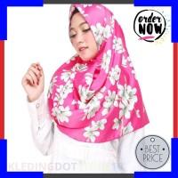 Promo AB Agen Baju Official Shop - sakura pasmina motif bunga Elegan
