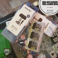 SMOK MICO REPLACEMENT POD CARTRIDGES 0.8 ohm Authentic BY SMOK Limited