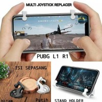 MULTI Pubg L1 R1 Pengganti Joystick Gaming Shooter Stand Holder Hp -