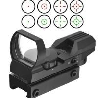 HOT SALE Reflex Sight Red Green Dot Scope 4 Reticles