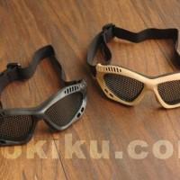 HOT SALE Metal Wire Goggle Kacamata Jaring - Hitam
