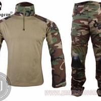 HOT SALE Baju Tactical Combat Shirt Woodland Gen 2 Emerson Ori Elbow