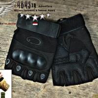 HOT SALE Gloves Half Finger / Sarung Tangan Army Tactical