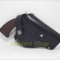 HOT SALE Holster kulit,Sarung Pistol Revolver kulit