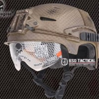 HOT SALE Helm Tactical Emerson Gear EFX Bump With Google Airsoft