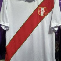 Hot Produk Jersey Peru Home Piala Dunia 2018 Merk Lokal Berkualitas