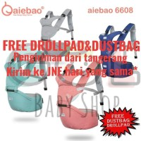 NEW HIPSEAT BABY CARRIER AIEBAO GENDONGAN BAYI 6608