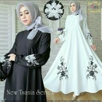 Pakaian Baju Busana Muslim Wanita Dress TSANIA Gamis Terbaru Termurah