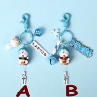 Gantungan Kunci Keychain Character Doraemon Lucu