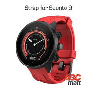 Strap for Suunto 9 BARO watch - Tali jam sport Suunto - RED