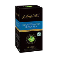 Lipton Decaf Black Tea - Isi 25 Sachet x 2gr [Teh Celup Tanpa Kafein]