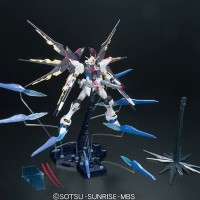 Bandai MG 1/100 Strike Freedom Gundam full burst mode + dragoon effect