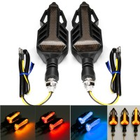 Terlaris 12V Motorcycle LED Sequential Flowing Water Running Lamp