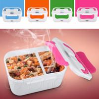 Lunch box electric kotak bekal makanan elektrik dengan pemanas