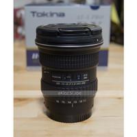 LENSA TOKINA AT-X116 PRO DX SONY A-MOUNT 11-16mm F2.8 BEKAS LIKE NEW