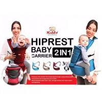 Gendongan bayi hiprest kiddy /baby carrier 2in1 (gendongan pinggang)