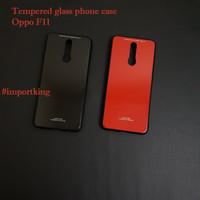 Oppo F11 tempered glass phone case - ( F11 biasa )