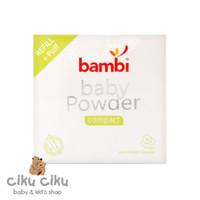 Bedak Bayi Bambi Baby Powder Compact Refill