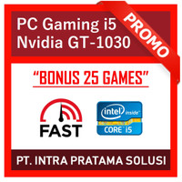PC Gaming Intel i5 + Nvidia (Siap Pakai + Bonus Games)