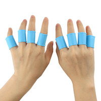 Golf Pelindung Jari Silikon 8 Pcs/Set - Finger Grip Cover