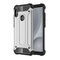 Luxury case VIVO V9 spigen armor case anti crack casing bumper army