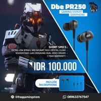 dbE PR250 Dual Voice Coil Gaming Earphone