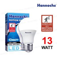 Hannochs Lampu Sensor Gerak 13 Watt