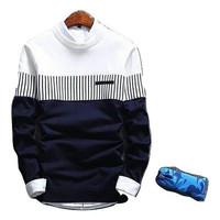 Sweater Jaket Pria Rajut ZICO NAVY BLUE Korean Style