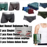 Paket Hemat Pakaian Dalam Pria