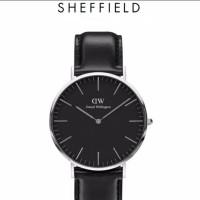 Daniel Wellington Original Classic Sheffield Dial Black
