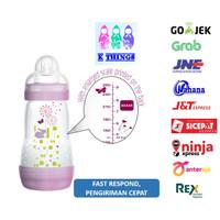 Botol Susu MAM Anti Colic Bottle 0+ Months 260ml - Ungu / Purple