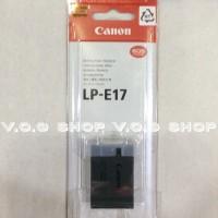 batterai canon LP E17