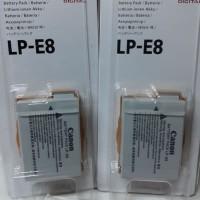 batterai canon LP E8
