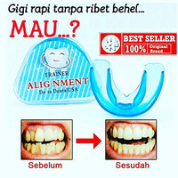 Teeth Trainer Alignment Orthodontic Retainer . Alat Perapih Behel Gigi